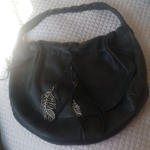 Lucky brand gorgeous leather bag